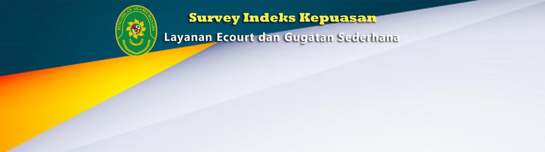 Survey Layanan eocurt & Gugatan Sederhana Image